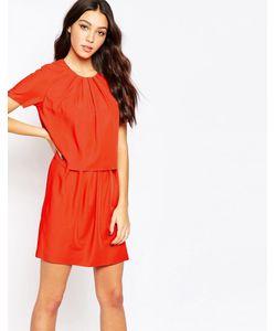 Y.A.S. | Платье Y.A.S Trine Twofer Красный