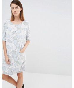 Selected | Платье С Лунным Пейзажем Tunni