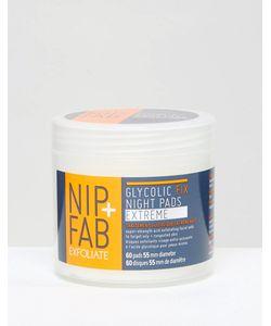 Nip+Fab   Гликолевые Спонжи Nip Fab X-Treme 80 Мл Xtreme Pads