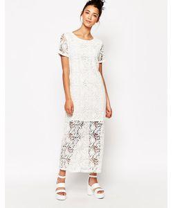 The WhitePepper | Длинное Кружевное Платье