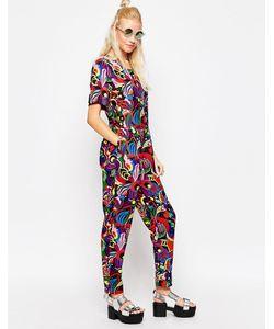 Textile Federation | Комбинезон С Принтом Orchids