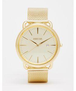 Breda | Золотистые Часы Из Нержавеющей Стали С Сетчатым Браслетом Linx
