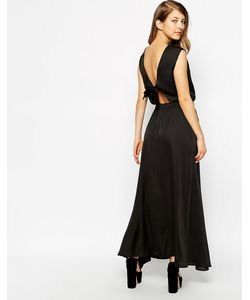 Ukulele | Платье С Бантом Сзади