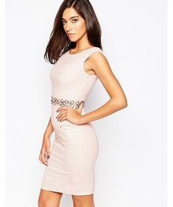 Little Black Dress | Платье С Декорированной Талией Cameron Розовый