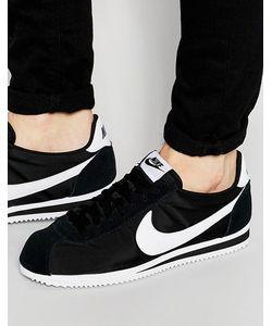 Nike | Нейлоновые Кроссовки Classic Cortez 807472-011 Черный