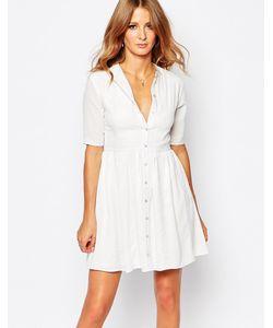 Millie Mackintosh | Платье На Пуговицах Из Белого Кружева