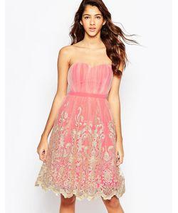 Laced In Love | Платье Для Выпускного С Кружевной Кромкой