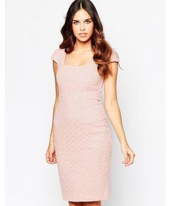 Hybrid | Платье Миди С Вышивкой Ришелье
