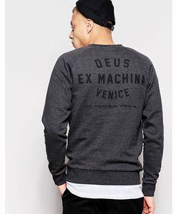 Deus Ex Machina | Свитшот С Принтом На Спине Venice La
