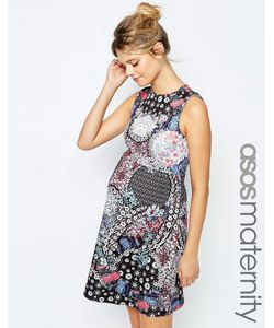ASOS Maternity | Короткое Приталенное Платье Для Беременных С Цветочным Принтом