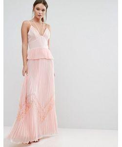 True Decadence | Плиссированное Платье На Бретельках