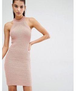 Parallel Lines | Трикотажное Платье Мини