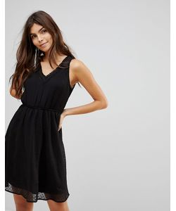 Vero Moda | Короткое Приталенное Платье С V-Образным Вырезом