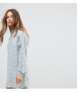 Fashion Union Petite   Свободное Платье С Длинными Рукавами И Завязками