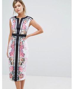 Ted Baker | Облегающее Платье С Цветочным Принтом Shawnie