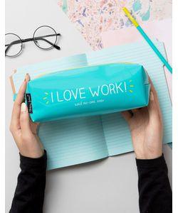Happy Jackson | Пенал С Надписью I Love Work
