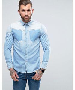 G-Star | Рубашка С Длинными Рукавами И Силуэтами Карманов Modern Arc