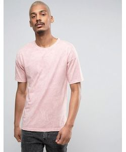 BLACK KAVIAR | Oversized T-Shirt In Acid Wash
