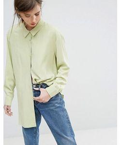Weekday   Мягкая Рубашка Из Купро