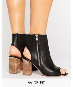 Asos | Кожаные Туфли Для Широкой Стопы Earnest