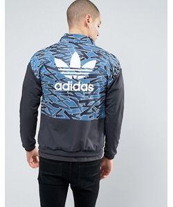 adidas Originals | Черная Куртка На Молнии