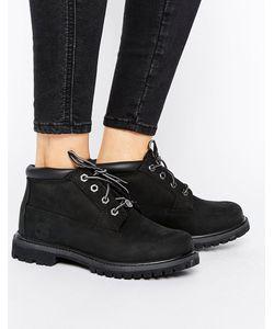 Timberland | Черные Ботинки Чукка На Шнуровке И Плоской Подошве Nellie