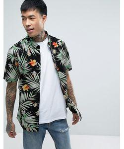 Vans | Черная Рубашка С Гавайским Принтом Daintree Va315tkvr