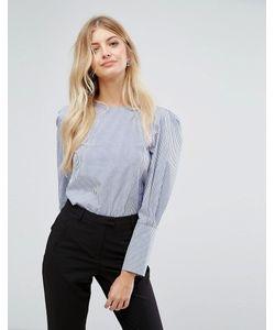 New Look   Блузка В Тонкую Полоску