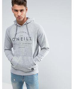 O'Neill   Худи Серого Цвета С Логотипом