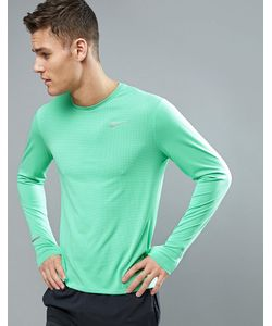 Nike Running | Dri-Fit Contour Long Sleeve T-Shirt In 683521-387