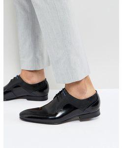 Ted Baker | Черные Блестящие Туфли Дерби