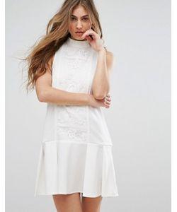 MISSGUIDED | Платье С Кружевной Вставкой