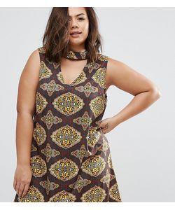 AX Paris | Платье Размера Плюс С Платочным Принтом