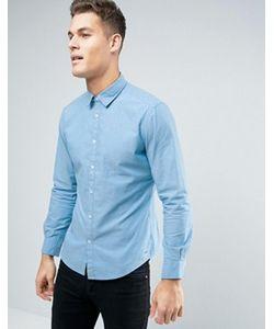 Esprit | Узкая Рубашка С Жаккардовой Строчкой