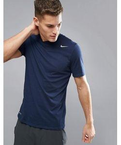 Nike Training   Темно-Синяя Футболка Dry 2.0 706625-451