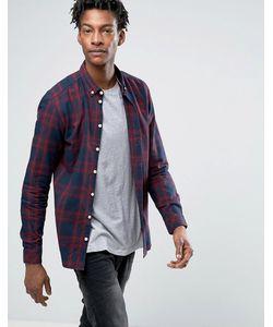 Minimum | Клетчатая Рубашка Классического Кроя На Пуговицах Marley