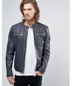 GOOSECRAFT | Leather Jacket With Quilting In Super