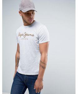 Pepe Jeans | Футболка С Логотипом Sail