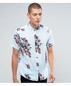 Reclaimed Vintage | Рубашка Классического Кроя С Цветочным Принтом Inspired