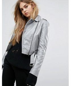 Muubaa | Короткая Кожаная Байкерская Куртка Muuba Sembri