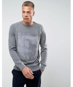 Calvin Klein Jeans | Свитер С Меховой Вставкой Calvin Klein