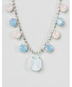 Krystall | Ожерелье С Подвеской И Кристаллами Swarovski От