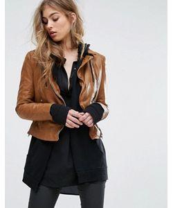 Muubaa | Байкерская Куртка С Контрастными Молниями