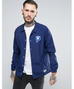 Penfield   Темно-Синяя Спортивная Куртка Из Нейлона С Логотипом Howard