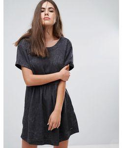 Pepe Jeans London | Платье Цвета Денима Lorette