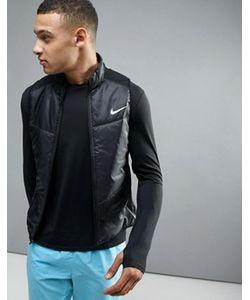 Nike Running | Черная Майка Polyfill 689475-010
