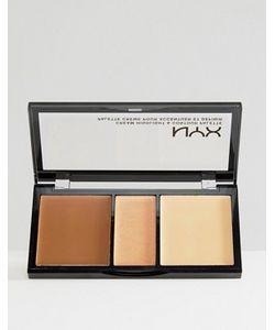 NYX | Набор С Кремовыми Контурирующими Средствами И Хайлайтером Professional Make-Up