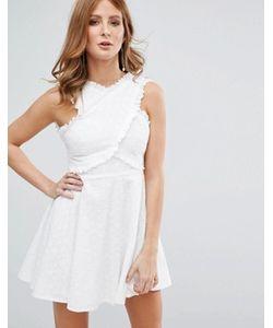 Millie Mackintosh | Платье С Вышивкой Ришелье