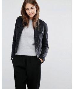 Vero Moda | Джинсовая Куртка С Воротником Борг