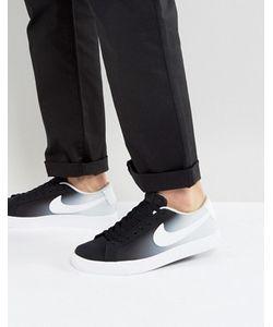 Nike SB   Черные Кроссовки Blazer Vapor 902663-014